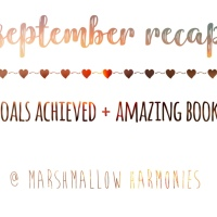 september recap // GOALS ACHIEVED, and awesome books